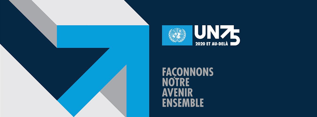 UN75 Façonnons notre avenir ensembe