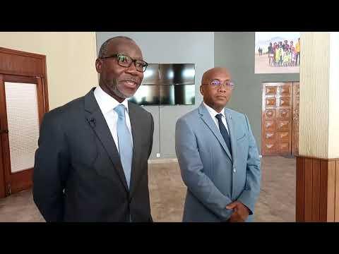 Point de presse - Issa Sanogo, Coordonnateur Résident Nations Unies Madagascar