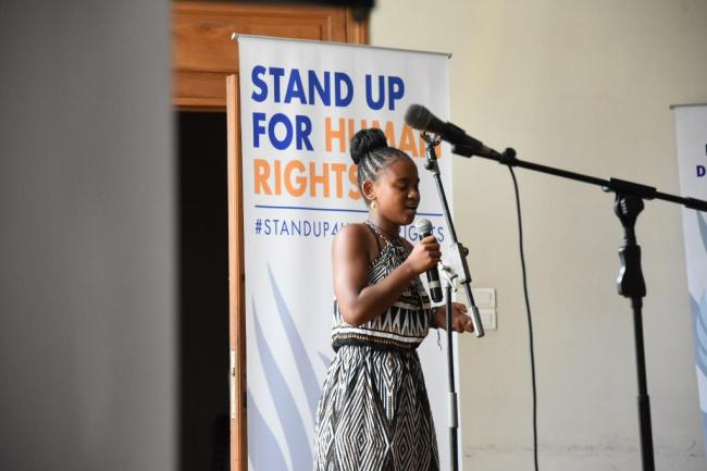 MDG_UNCT Youth standing up for human rights